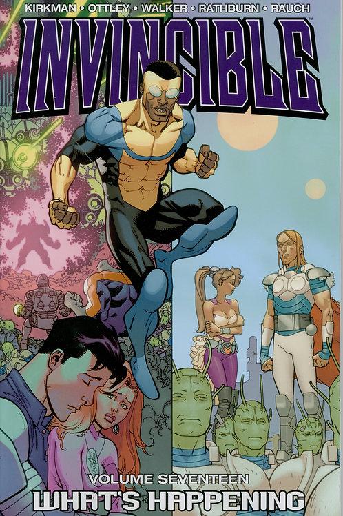 Invincible Vol17: What's Happening (Robert Kirkman &Ryan Ottley)