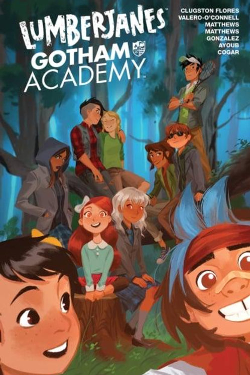 Lumberjanes/Gotham Academy (Chynna Clugston-Flores &Rosemary Valero-O'Connell)