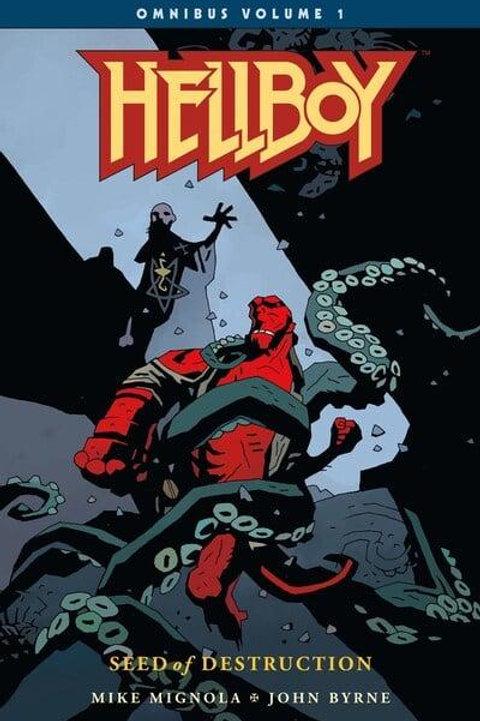 Hellboy Omnibus Vol1: Seed Of Destruction (Mike Mignola & John Byrne)