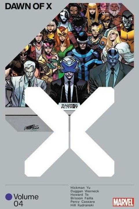 Dawn Of X Vol4 (Jonathan Hickman & Leinil Francis Yu)