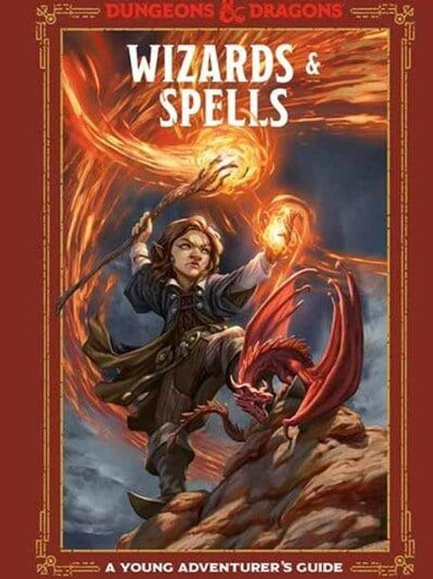 Wizards & Spells Dungeons & Dragons (A Young Adventurer's Guide)