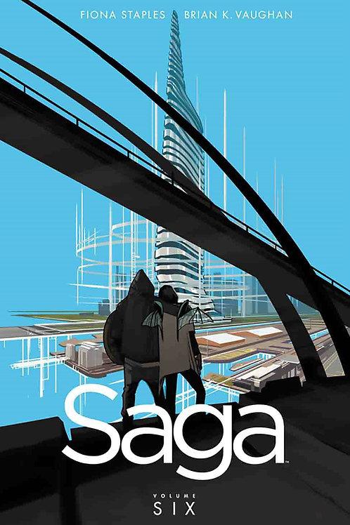 Saga Vol6 (Brian K. Vaughan & Fiona Staples)