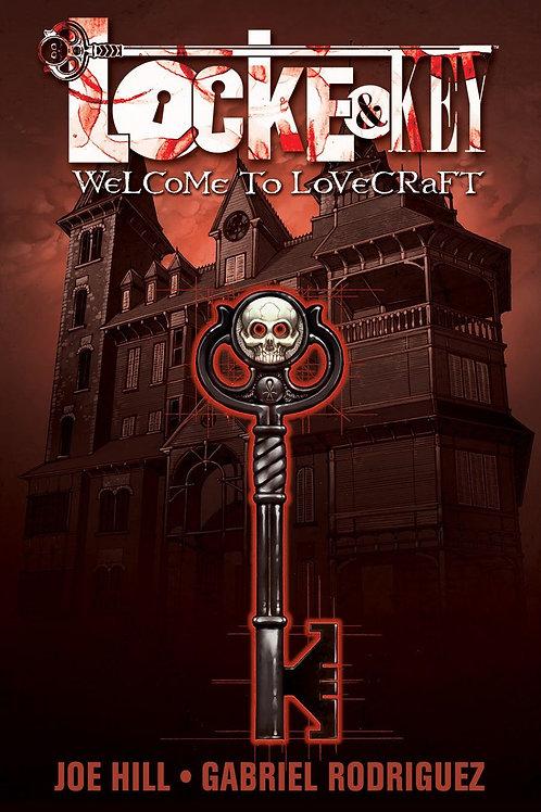 Locke & Key Vol 1: Welcome To Lovecraft (Joe Hill & Gabriel Rodriguez)