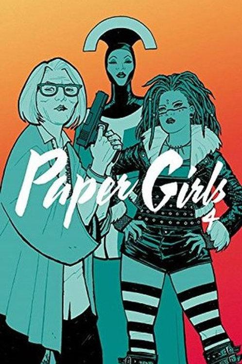 Paper Girls Vol 4 (Brian K. Vaughan & Cliff Chiang)
