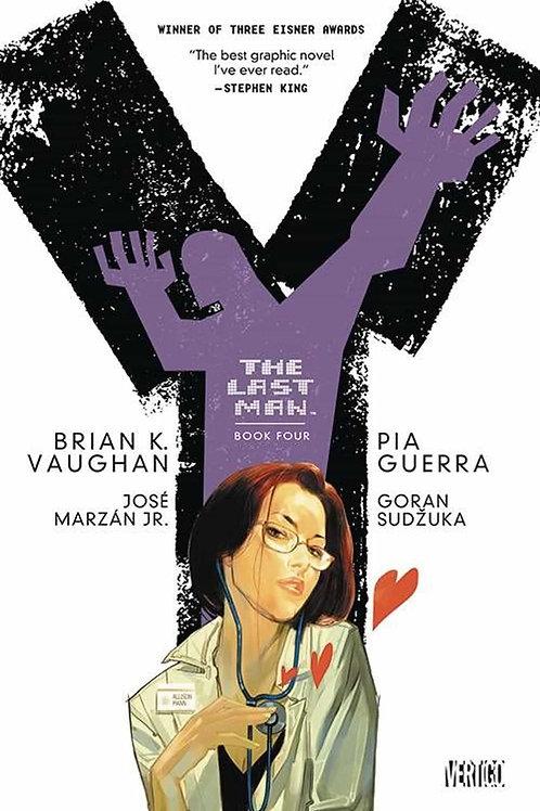 Y: The Last Man Book 4 (Brian K. Vaughan & Pia Guerra)