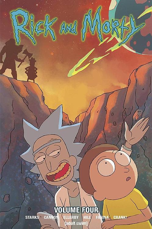 Rick & Morty Vol 4 (Kyle Starks & C.J. Cannon)