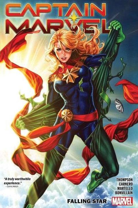 Captain Marvel Vol2: Falling Star (Kelly Thompson & Carmen Carnero)