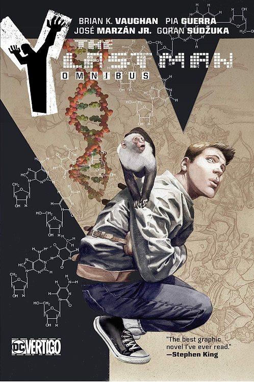 Y: The Last Man Omnibus (Brian K. Vaughan & Pia Guerra)