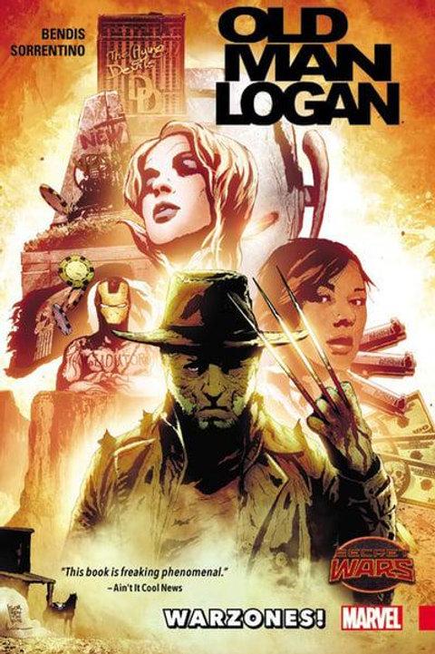 Old Man LoganVol0: Warzones (Brian Michael Bendis & Andrea Sorrentino)