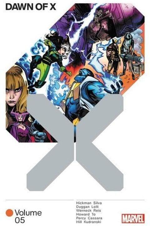 Dawn Of X Vol5 (Jonathan Hickman & Leinil Francis Yu)