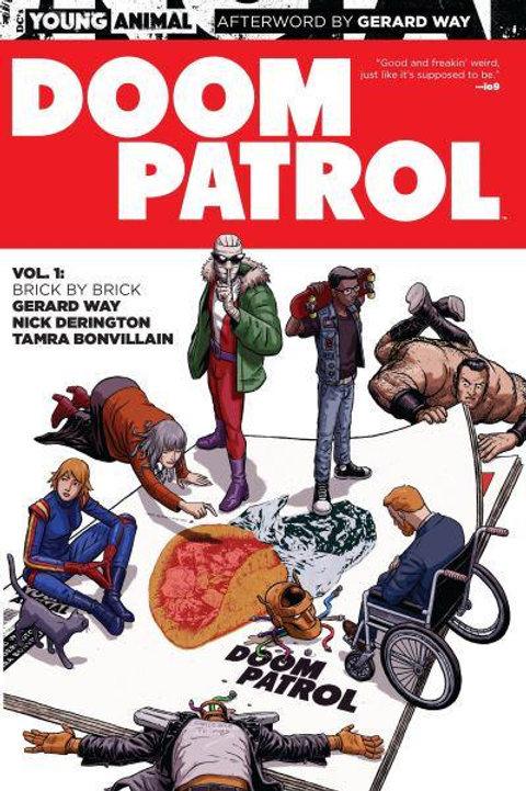 Doom Patrol Vol1: Brick By Brick(Gerard Way & Nick Derington)