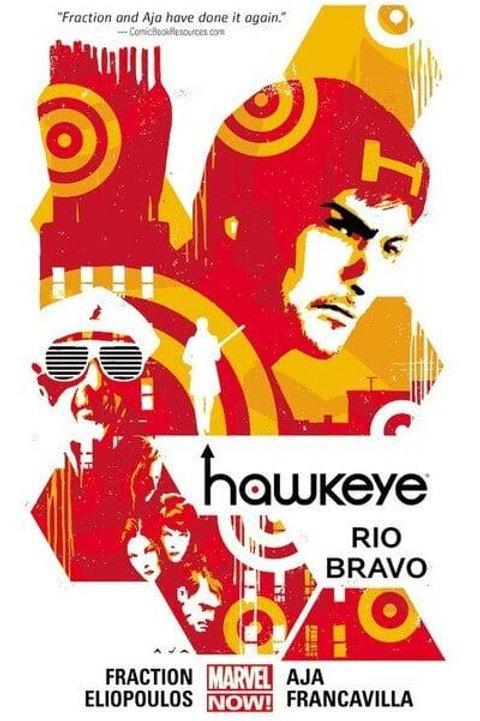 HawkeyeVol4: Rio Bravo (Matt Fraction, David Aja & Annie Wu)