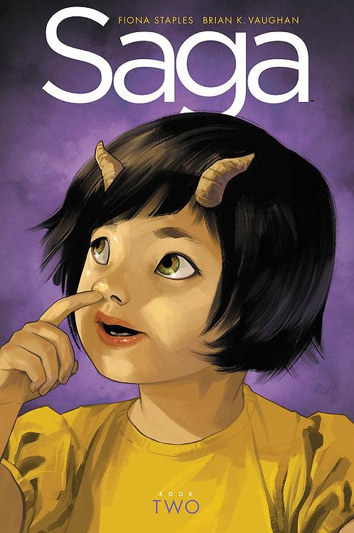 Saga Book 2 (Brian K. Vaughan & Fiona Staples)