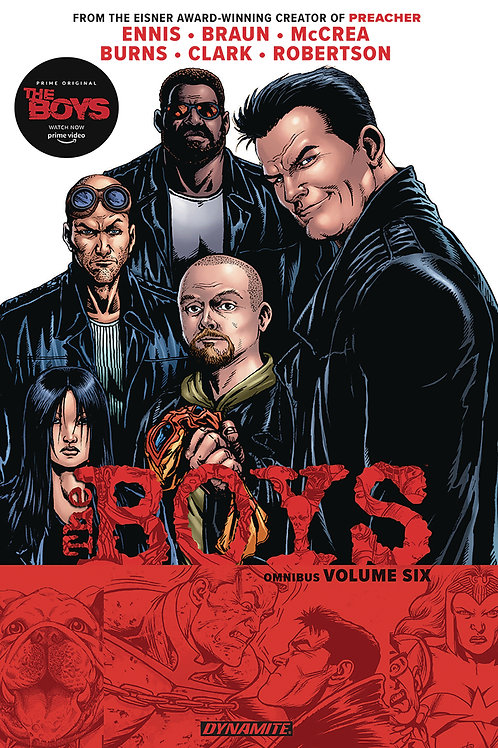 The Boys Omnibus Vol6 (Garth Ennis &Darick Robertson)