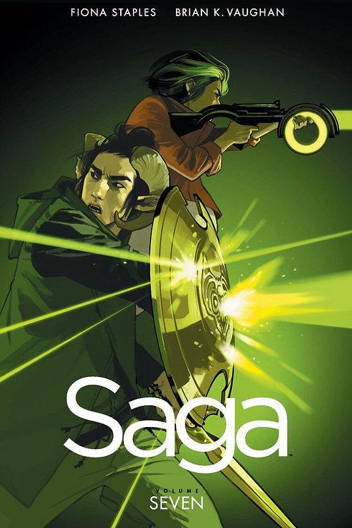 Saga Vol7 (Brian K. Vaughan & Fiona Staples)