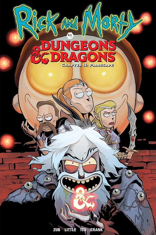 Rick & Morty vs. Dungeons & Dragons Chapter 2: Painscape (Jim Zub)