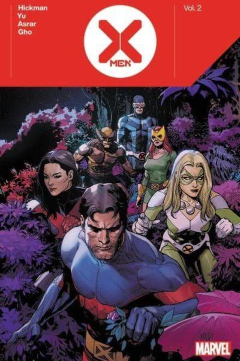 X-Men Vol2 (Jonathan Hickman & Leinil Francis Yu)
