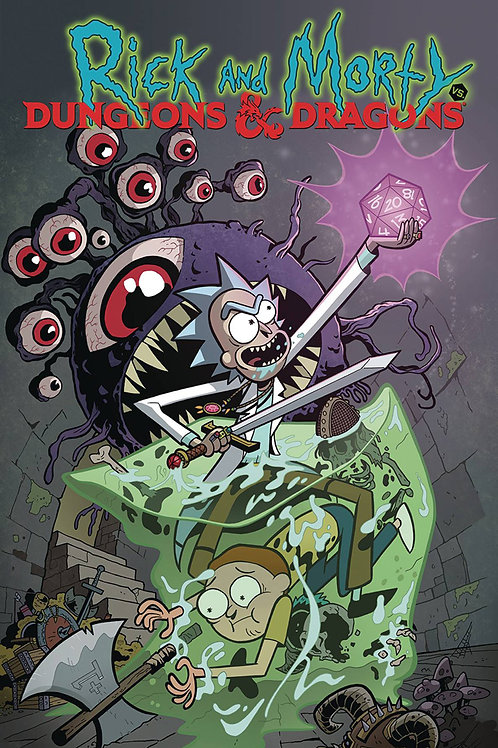 Rick & Morty vs. Dungeons & Dragons (Jim Zub & Patrick Rothfuss)