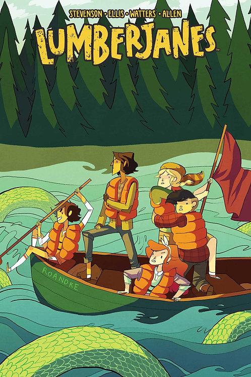 Lumberjanes Vol3: A Terrible Plan (Noelle Stevenson &Shannon Watters)