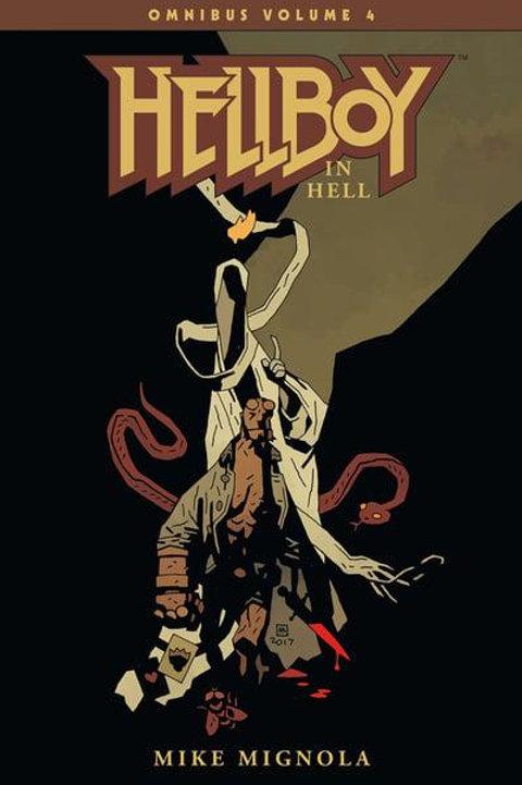 Hellboy Omnibus Vol4: Hellboy In Hell (Mike Mignola & Dave Stewart)