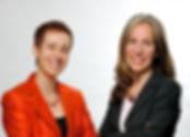 Sissi Vandenbrouck & Isabel Plaza - das FlexWork Team