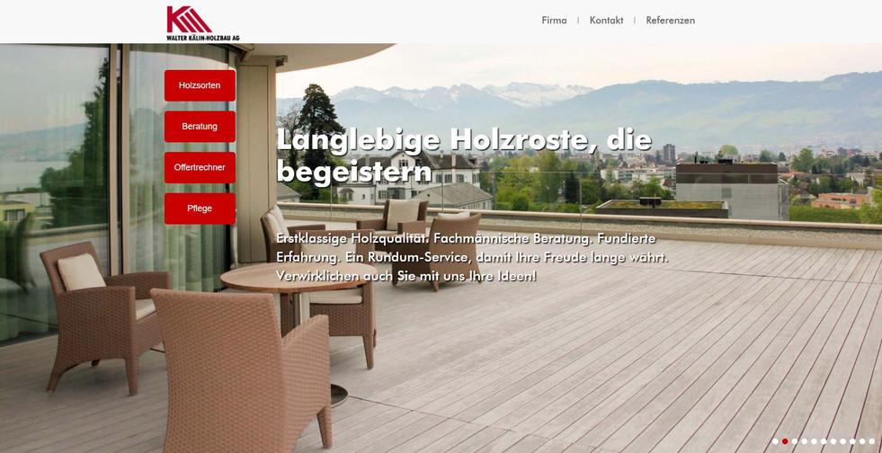 Holzrost Website