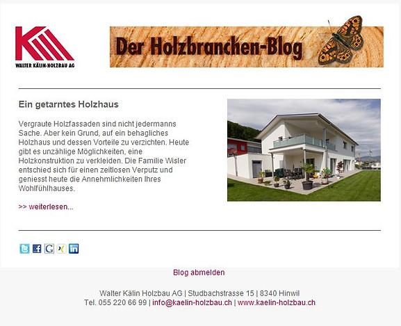 Der Holzbranchen-Blog