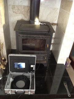 Chimney Camera In Use
