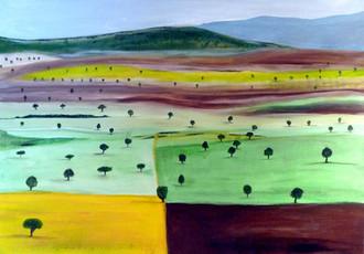 Landschaft in Galicien