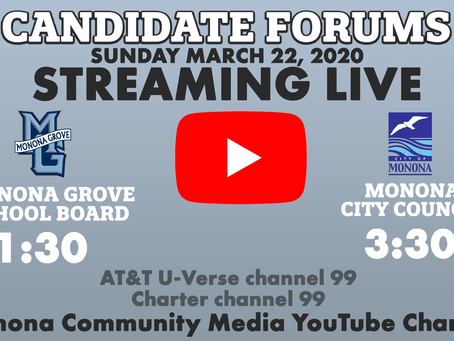 Tune in to the debate on Sunday, March 22!
