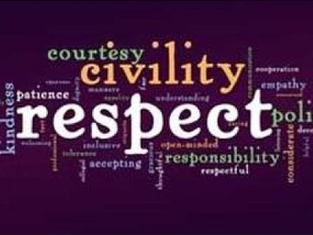 A lesson in civility