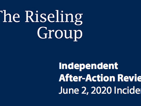 Riseling Group results published for June 2 investigation & LAW's recommendations