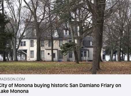 City of Monona buys San Damiano—what's next?