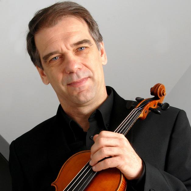 Lalov with violin