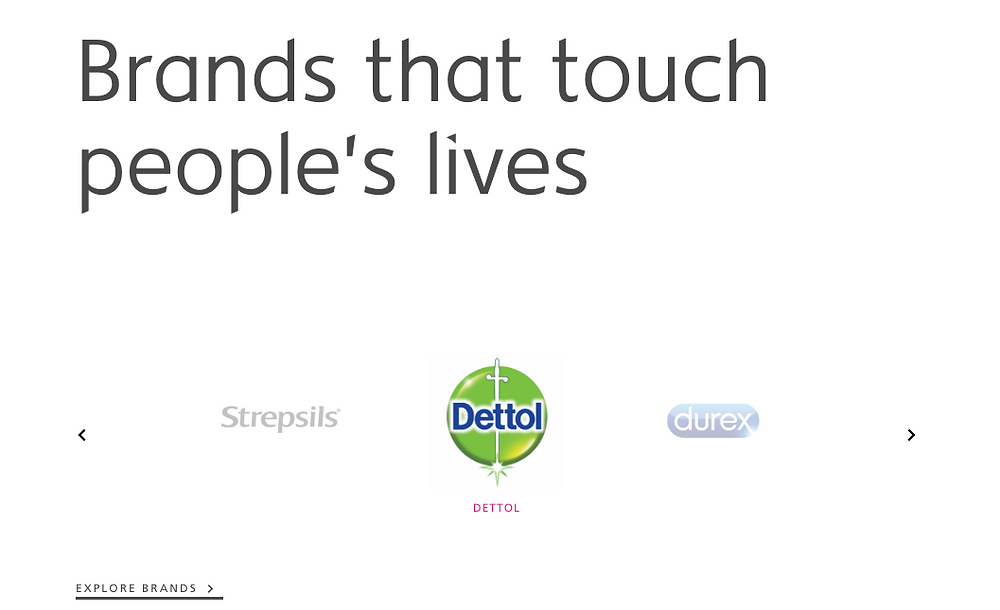 Brands that touch people's lives