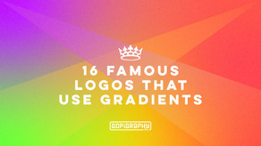 16 well known brand logos that use gradients