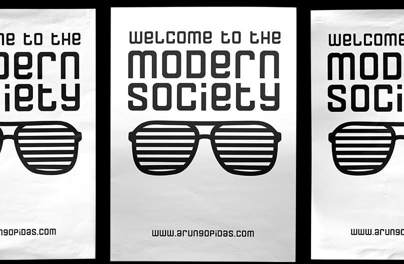 Modern Society - Free Font →