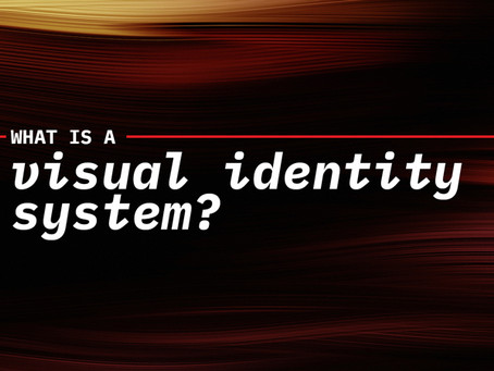 What is a visual identity system?