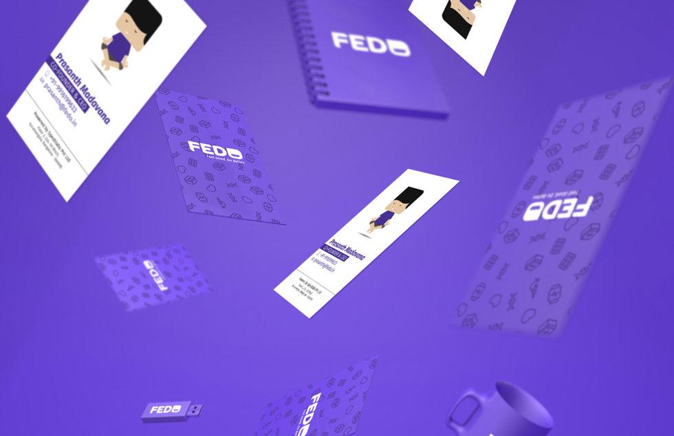Fedo-branding-business-card-notebook-mug