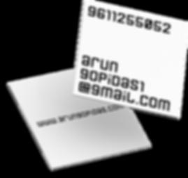 visiting card graphic design