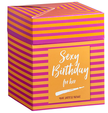 BOX SEXY BIRTHDAY FOR HER