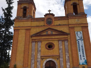La Parroquia de San Pedro y San Pablo en Cadereyta