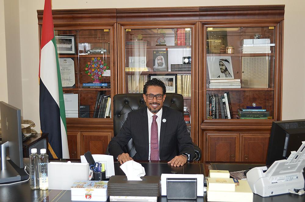 Excmo. Embajador de los Emiratos Árabes Unidos en México, Sr. Ahmed Almenhali