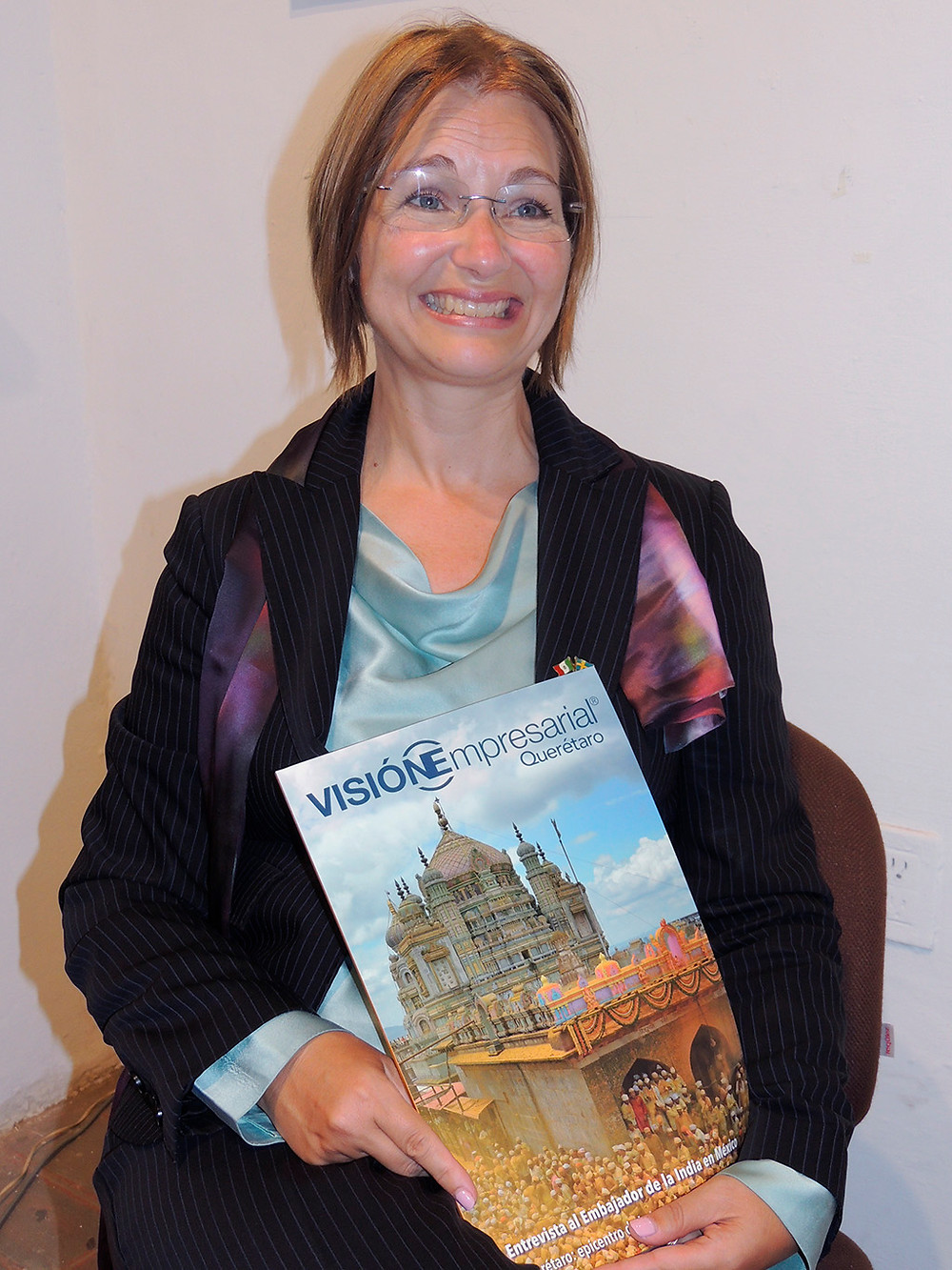 Excelentísima Embajadora Annika Thunborg