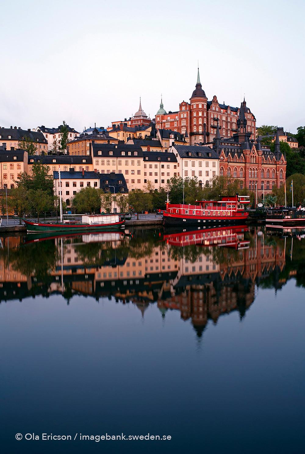 Hills of Södermalm, photo by Ola Ericson / imagebank.sweden.se