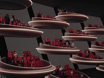 Un cine de París rediseña su sala inspirada en el Senado Galáctico de 'Star Wars'