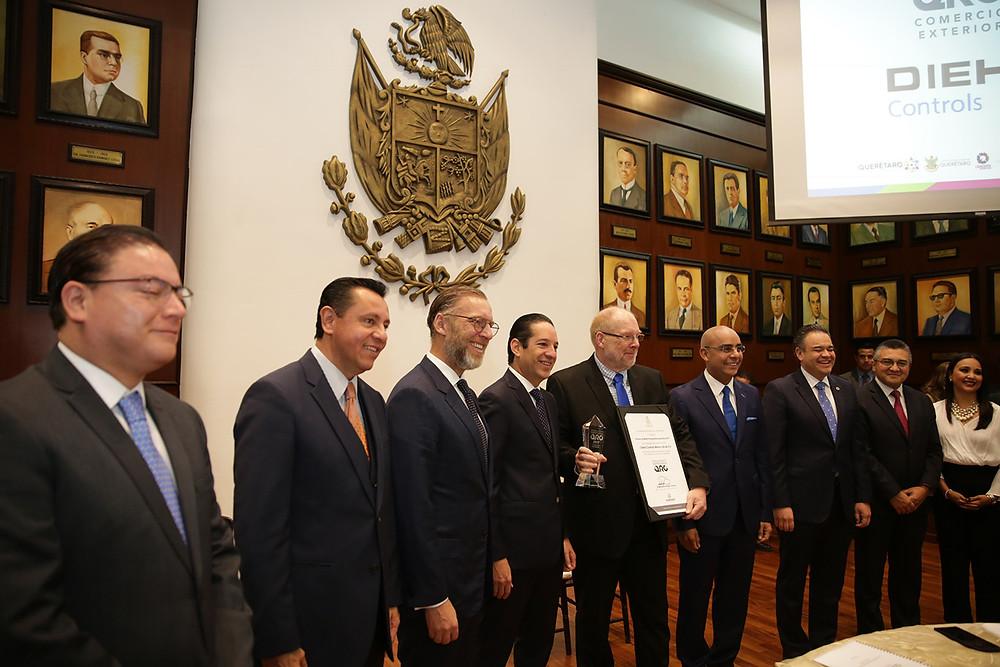 Entrega del Premio al Mérito Empresarial Querétaro 2017