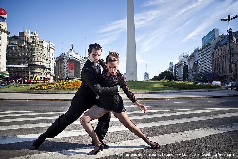 Bailarines de Tango en Buenos Aires