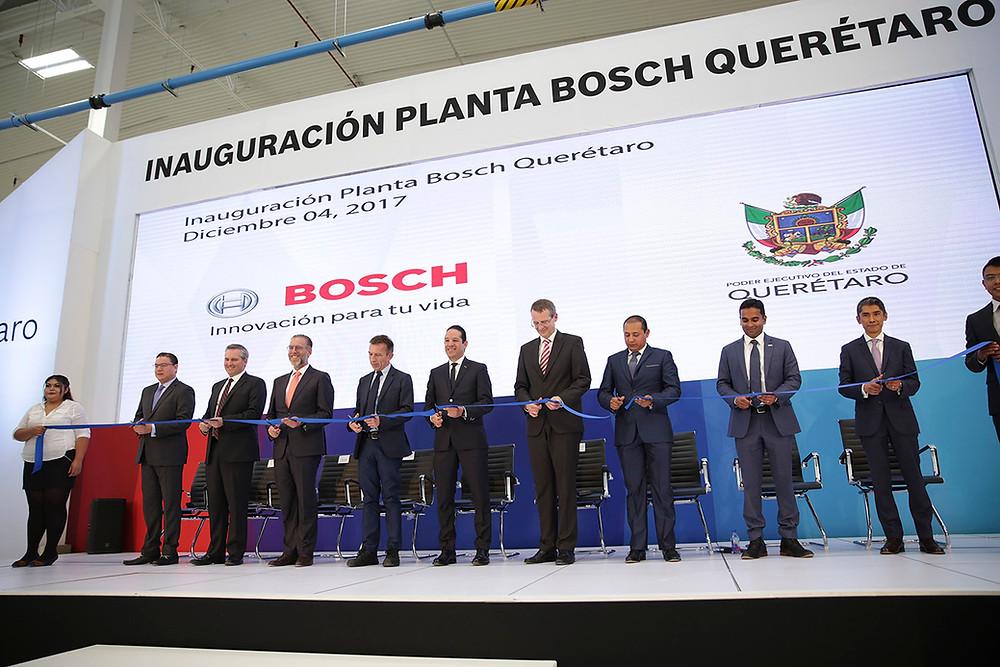 Inauguración Planta Bosch Querétaro