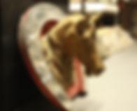 horse in horseshoe